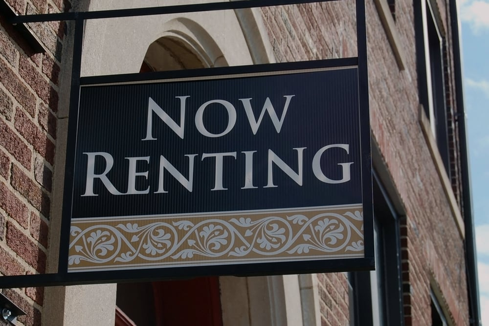 Now Renting Sign